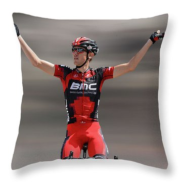 Tejay Van Garderen 4 Throw Pillow