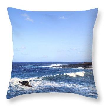 Tenerife - Garachico  Throw Pillow