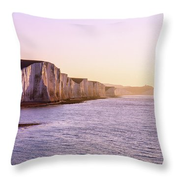 Throw Pillow featuring the photograph The Seven Sisters by Will Gudgeon