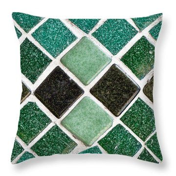 Stone Buildings Throw Pillows