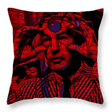 Timothy Leary Collection Throw Pillow