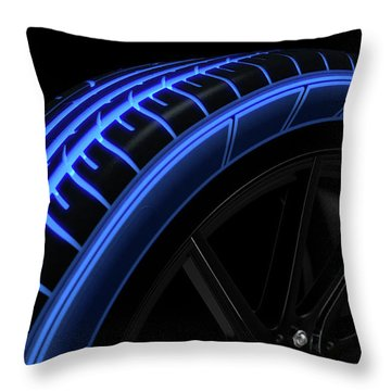 Mag Wheels Throw Pillows