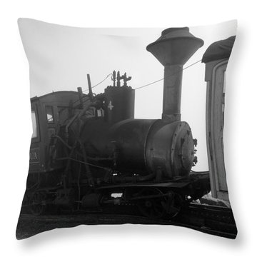 Train Throw Pillow