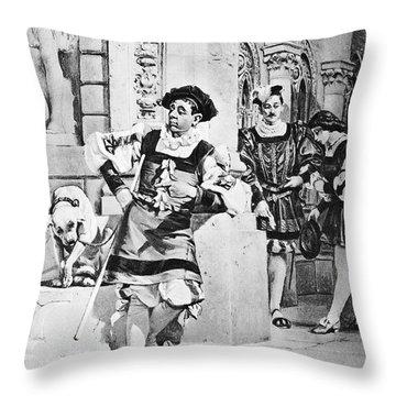 Two Gentlemen Of Verona Throw Pillow by Granger