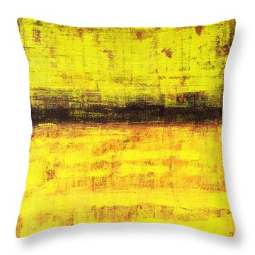 Untitled No. 1 Throw Pillow by Julie Niemela