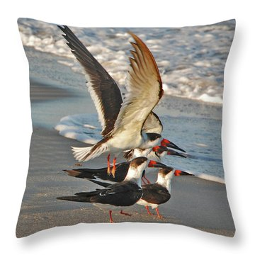 3- Upward And Onward Throw Pillow by Joseph Keane