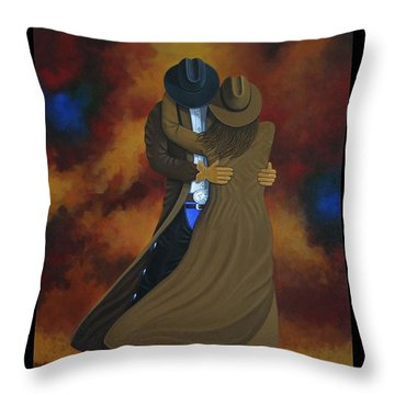 Wild West Days Poster/print  Throw Pillow by Lance Headlee