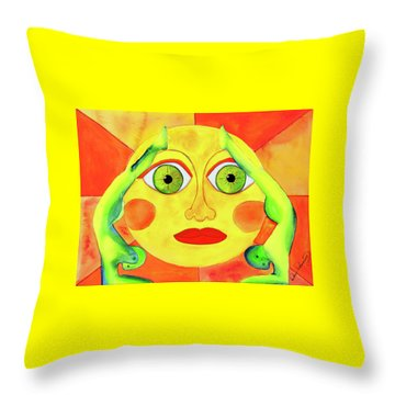 Dual Energy Throw Pillow