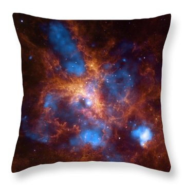 30 Doradus And The Growing Tarantula Within Throw Pillow