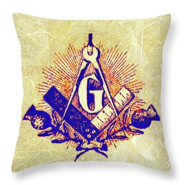 Trowels Throw Pillows