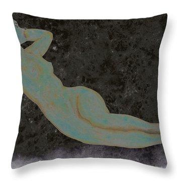Nude Woman Throw Pillow
