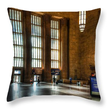 30th Street Station Throw Pillow
