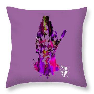 Slash Collection Throw Pillow