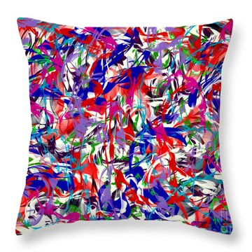B T Y L Throw Pillow