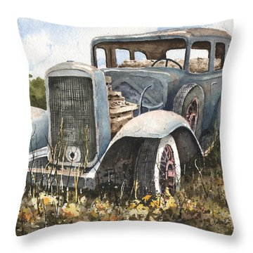 32 Buick Throw Pillow