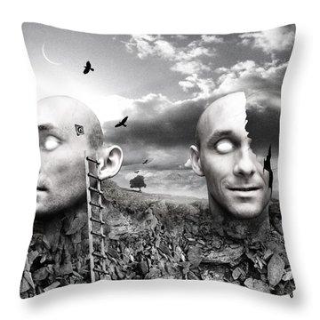 No Title Throw Pillow