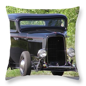 Throw Pillow featuring the photograph 32 Three Window Classic  by Alan Johnson