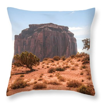 #3328 - Monument Valley, Arizona Throw Pillow