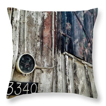 Throw Pillow featuring the photograph 3340 by Olivier Calas
