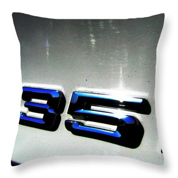 335i Throw Pillow by Amanda Barcon