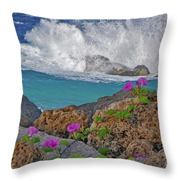 34- Beauty And Power Throw Pillow by Joseph Keane