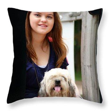 3491 Throw Pillow by Mark J Seefeldt