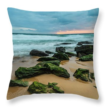Dawn Seascape Throw Pillow