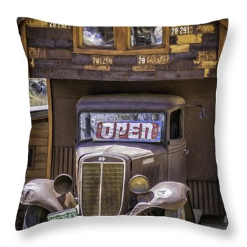 35 Harvester  Throw Pillow