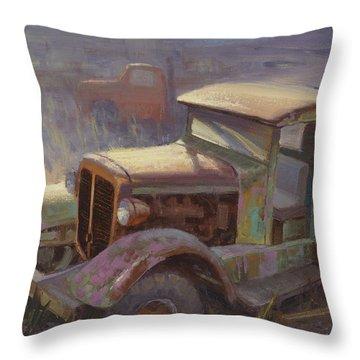 36 Corbitt 4x4 Throw Pillow
