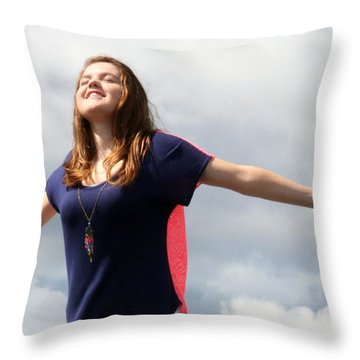 3605 Throw Pillow by Mark J Seefeldt