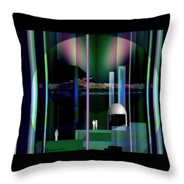 365 - Nightscene   Throw Pillow