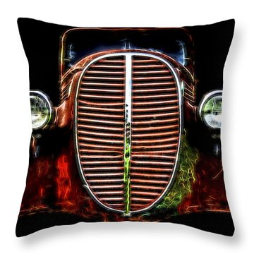 37 Chevy Throw Pillow