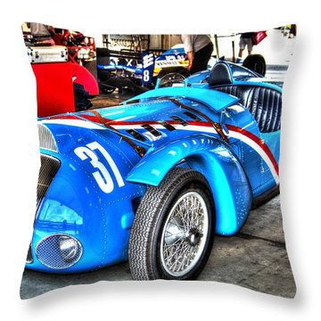 Delahaye Fast From The Front Throw Pillow