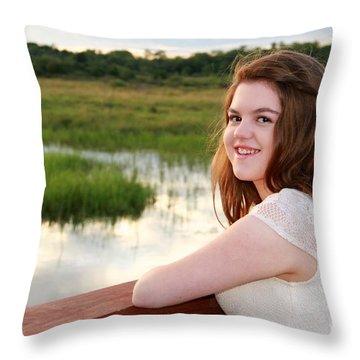 3734 Throw Pillow by Mark J Seefeldt
