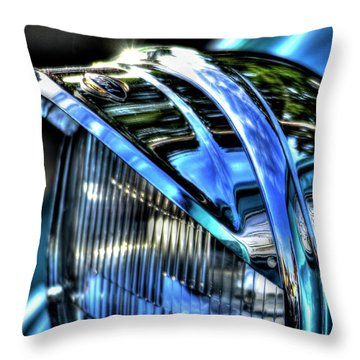 38 Ford Headlamp Throw Pillow