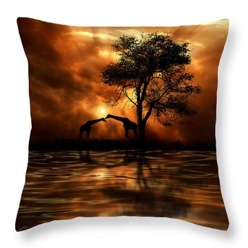 3861 Throw Pillow