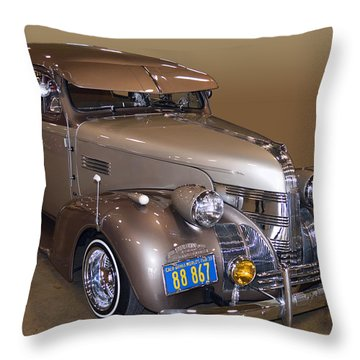 39 Pontiac Dresser Throw Pillow by Bill Dutting