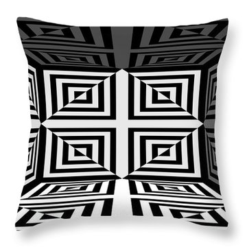Throw Pillow featuring the photograph 3d Mg253daw by Mike McGlothlen