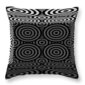 Throw Pillow featuring the photograph 3d Mg553dw by Mike McGlothlen