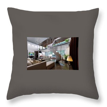 3d Walkthrough Interior Rendering Design And Modeling Throw Pillow By KCL Solutions