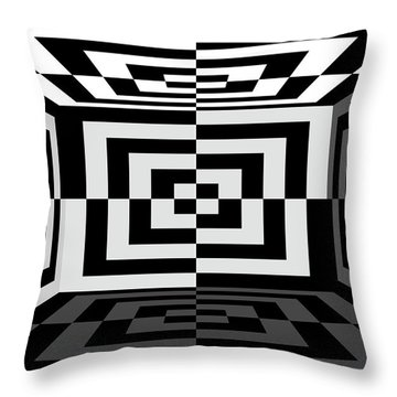 Throw Pillow featuring the photograph 3Dw by Mike McGlothlen