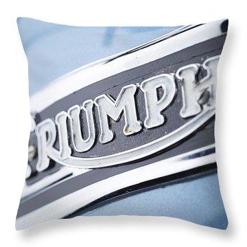 1949 Triumph Trophy Throw Pillow