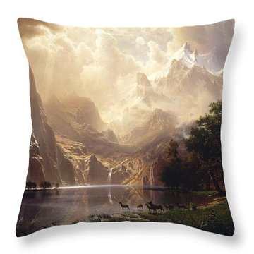Sierra Nevada Enhanced Throw Pillow