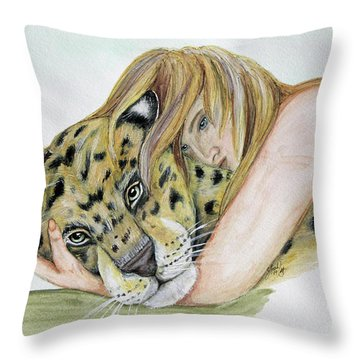 Anam Leopard Throw Pillow