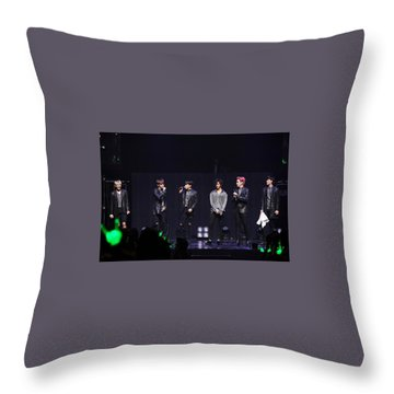 B.a.p Throw Pillow