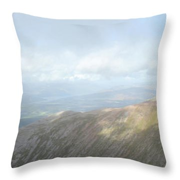 Ben Nevis Throw Pillow