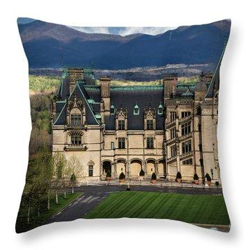 Biltmore Estate Throw Pillow