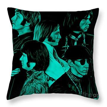 Buffalo Springfield Collection Throw Pillow