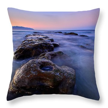 Throw Pillow featuring the photograph Cape Kiwanda by Evgeny Vasenev
