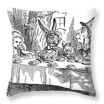 Carroll: Alice, 1865 Throw Pillow by Granger